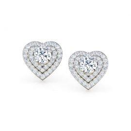 Orecchini White Heart