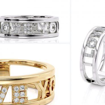 Anello Fascia Love Diamanti